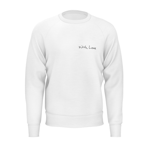 With Love Cover Crewneck