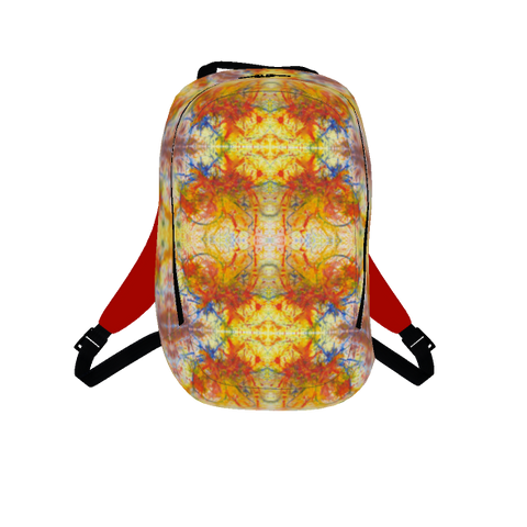 Flaming Flowers Art Bag