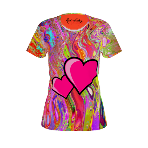 COLOR FANS- True Hearts Women's Tee