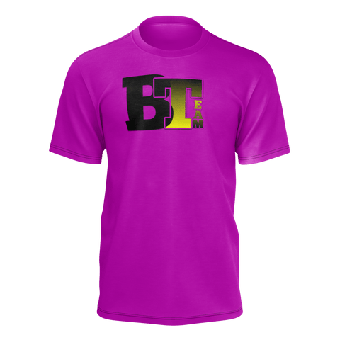 BT brand shirt purple