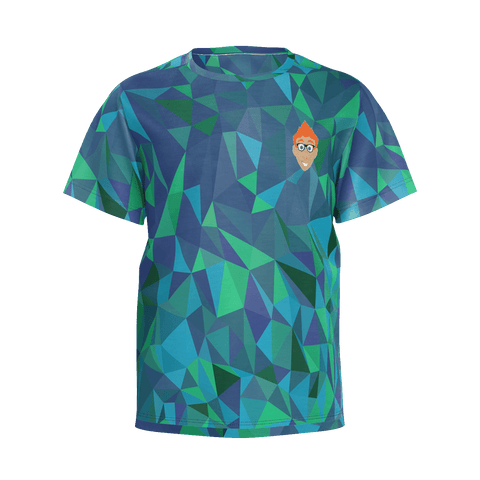 Bart's YT Boys Blue Particle T-shirt