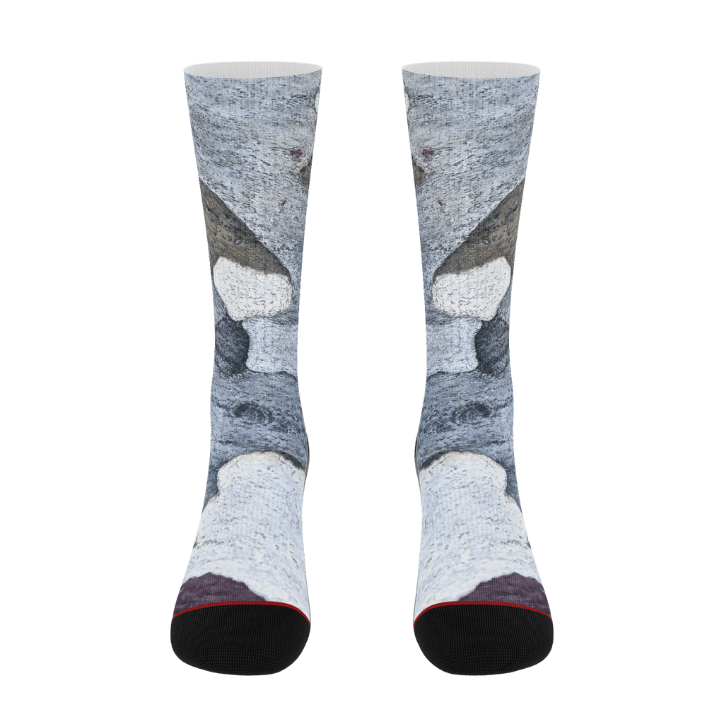TRAIL PATTERN SOCKS