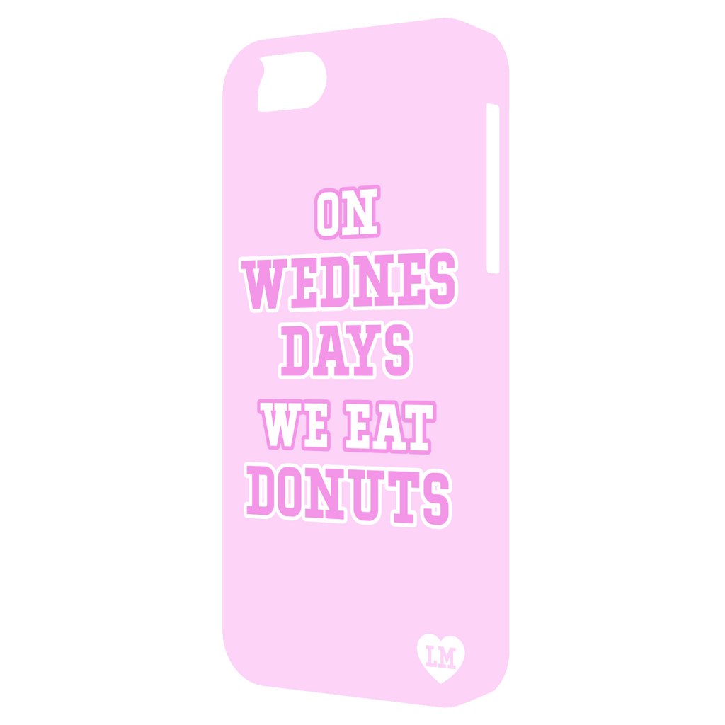 On Wednesdays We Eat Donuts iPhone 5 Case