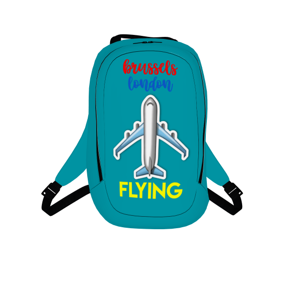 FLYING TO [BACKPACK]