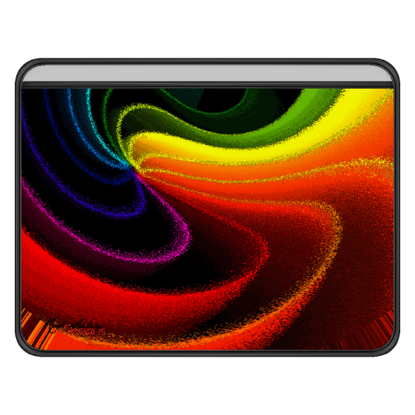 COLOR SWIRL - Computer Sleeve