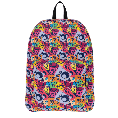 School Bus Aliens Backpack 23