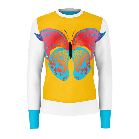 Butterfly white long sleeve shirt  Butterfly  modell