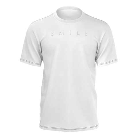 Smile White T-Shirt