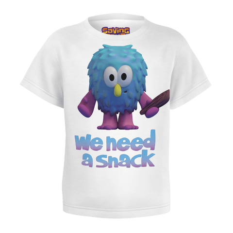 WE NEED A SNACK - OOGA BOOGA TSHIRT