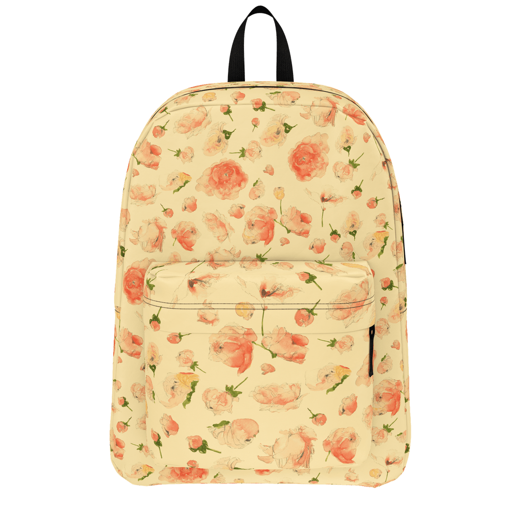 Peach Roses Backpack