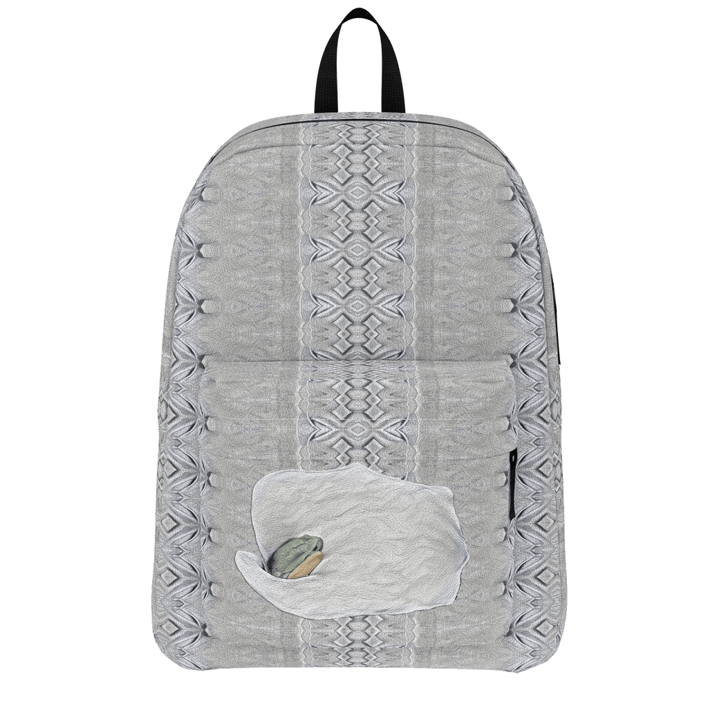 Portrait of a Snow Tree Frog Princess  - Standard Backpack