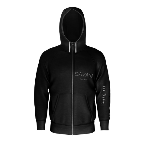 SAVAG3 Tracksuit Top - Black