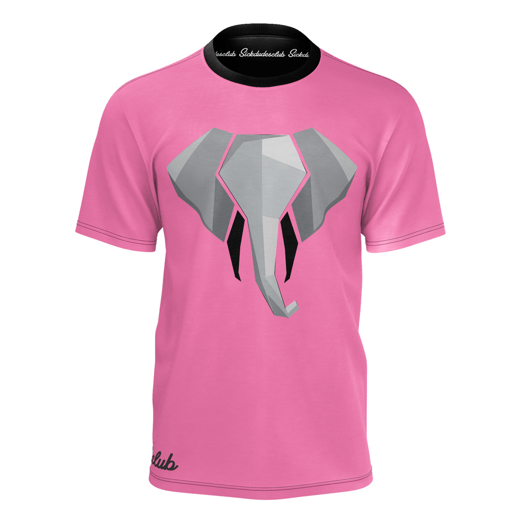 pink trunks tee
