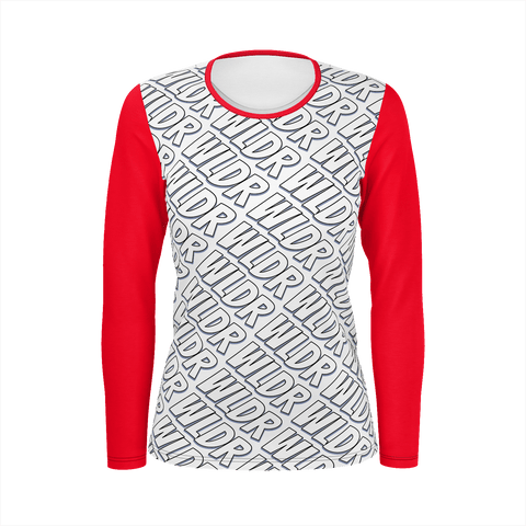WLDR Branded Ladies Long Sleeve