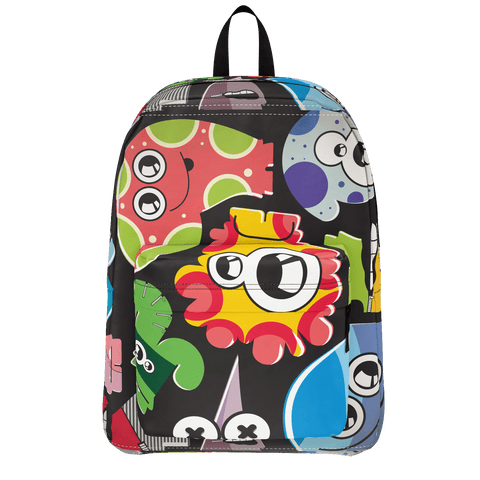 School Bus Aliens Backpack 13