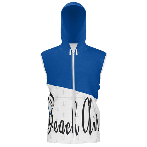 Beach Air Classy Men's Sleeveless Hoody