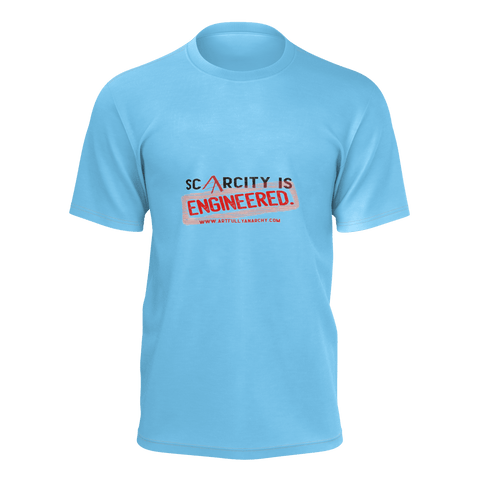 Scarcity is Engineered Stamp Tshirt
