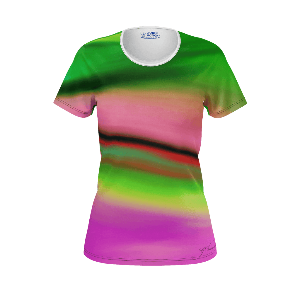 Female tshirt - glow