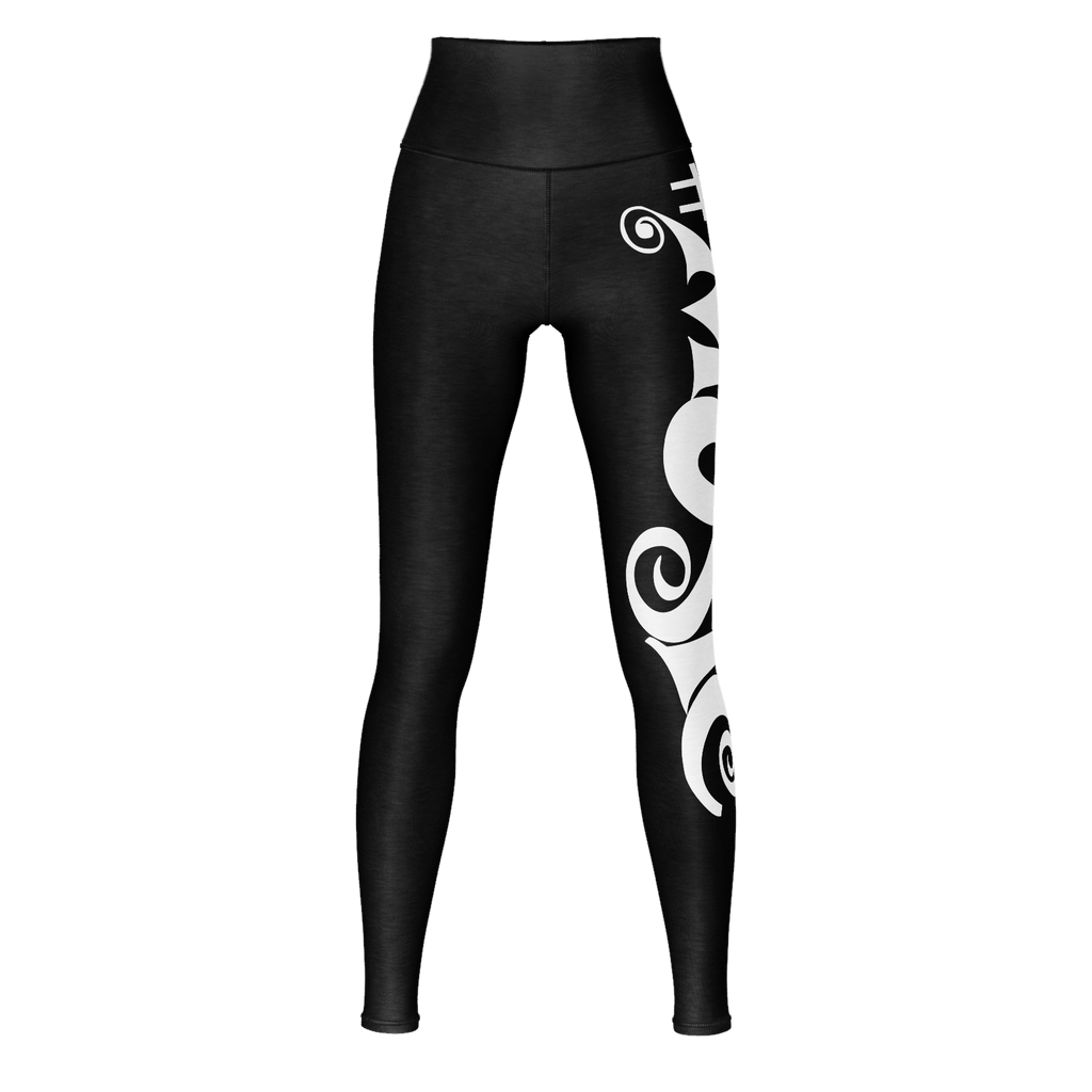 #Music Yoga Pants (Black)