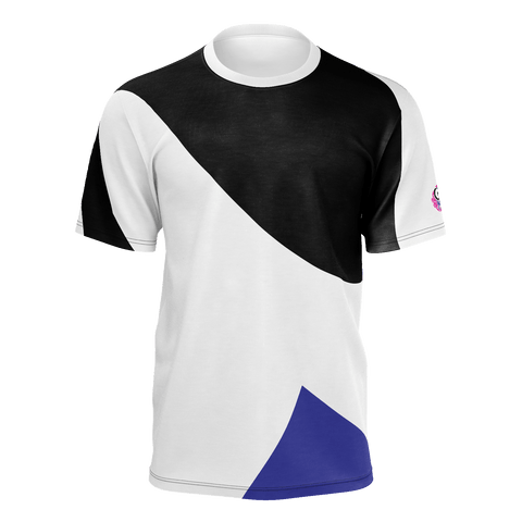 CVMUSIC ABSTRACT STYLE White Black Blue w LOGO
