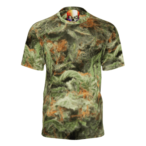NEW! REAL BUD  CAMO T-SHIRT MENS NEW!