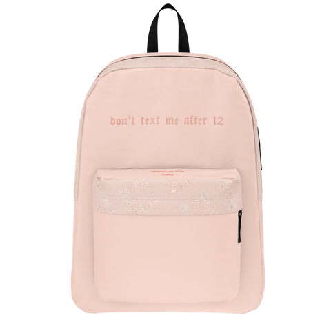 Don't text me Backpack