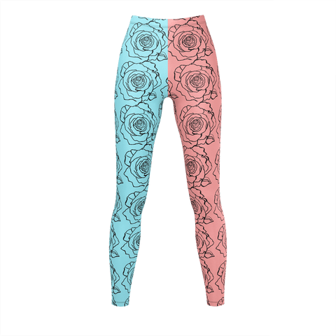 BE ART La Rosa Leggings