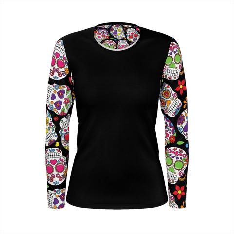 WLDR Ladies Sugar Skull Shirt