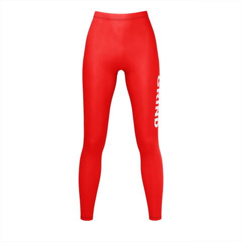 GRIND red Leggings