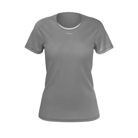Plus One Grey Womens T-Shirt