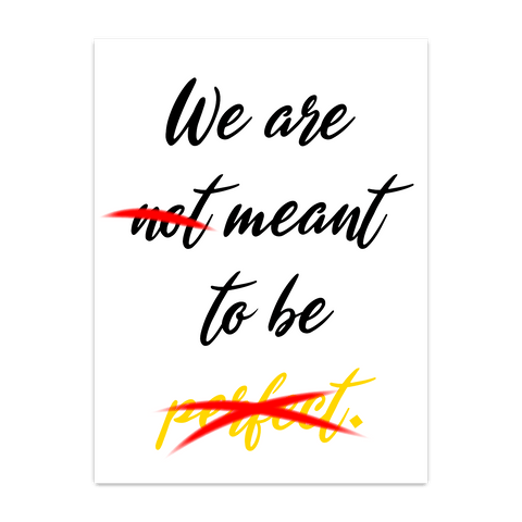 We Are Not - On White