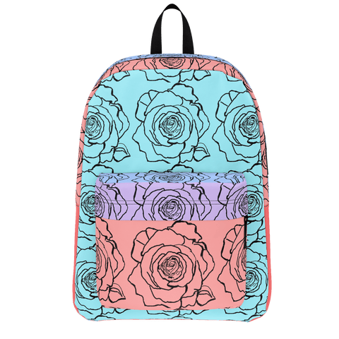 B.E ART La Rosa Back Pack