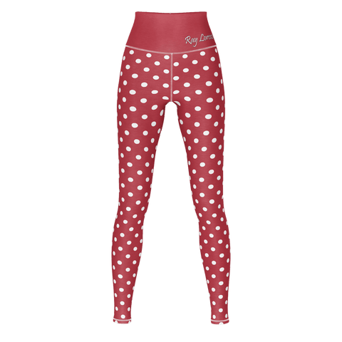 Polka Dot Yoga - Sweet Red