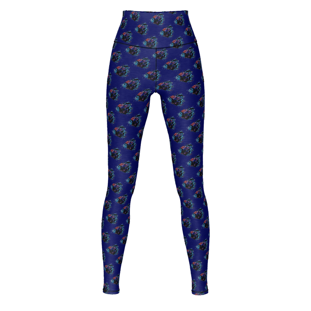 Superman Yoga Pants (Cartoon Fill)