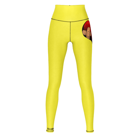 Women Yellow Yogo D.V.L