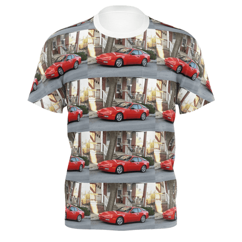Mens T shirt Red Porsche 951  or 944 Turbo