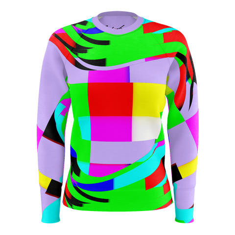 Color Waves -Women's Sweat Shirt