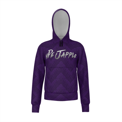 Purple hiPe Japple Checkered Hoodie