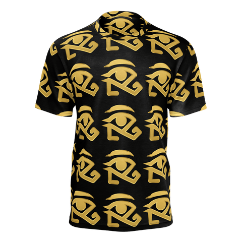 Black Shirt with Gold logo