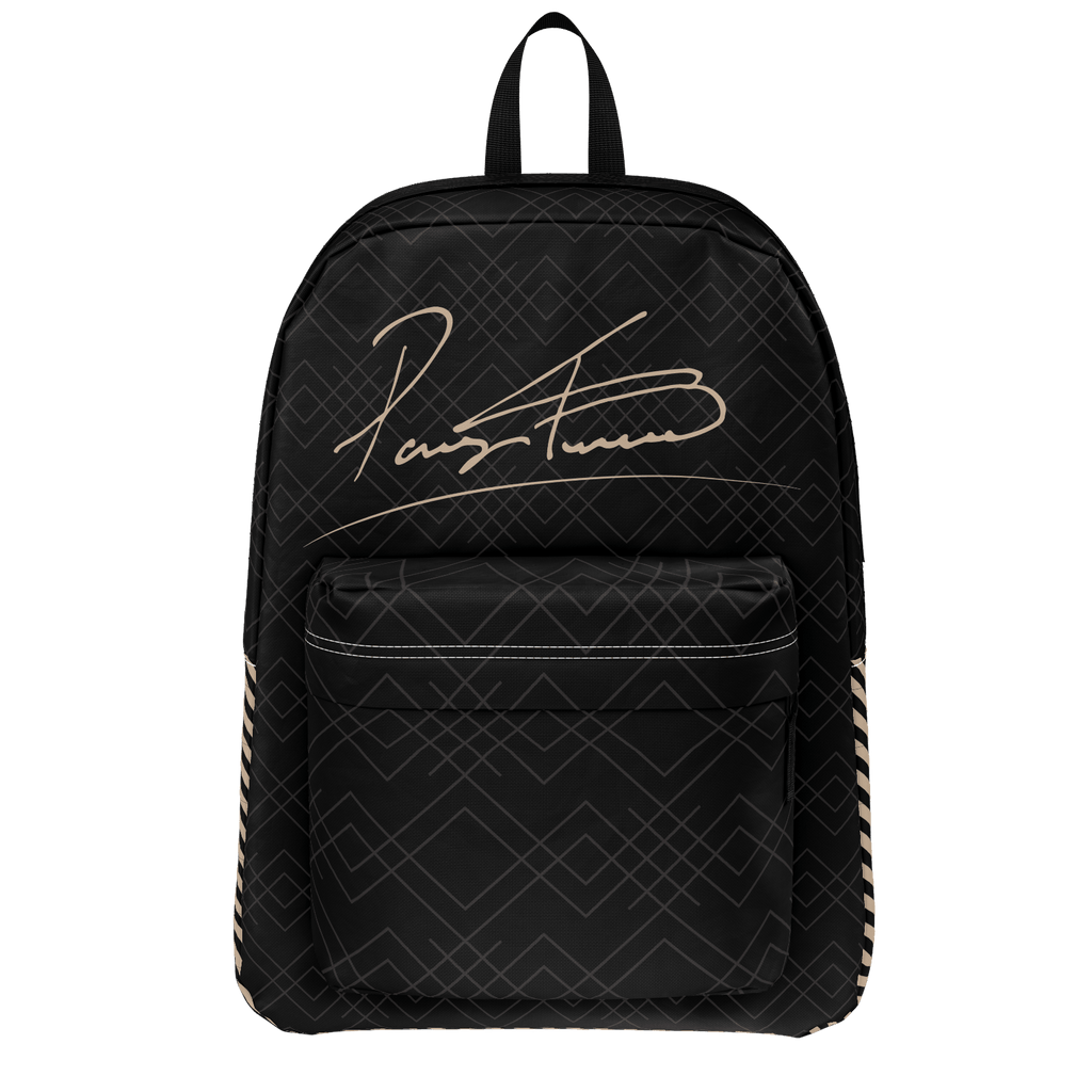 More Not Less Black Backpack
