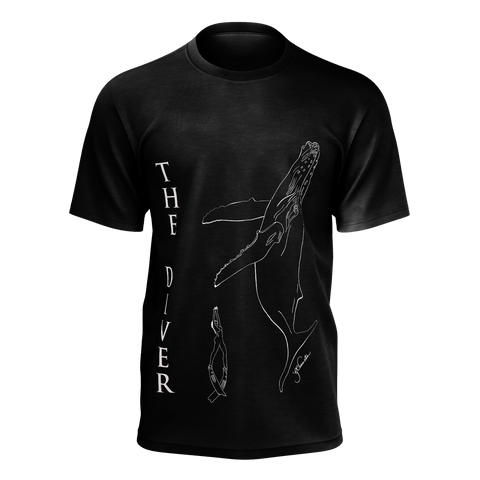 Men Tshirt Poly- The Diver wire 2