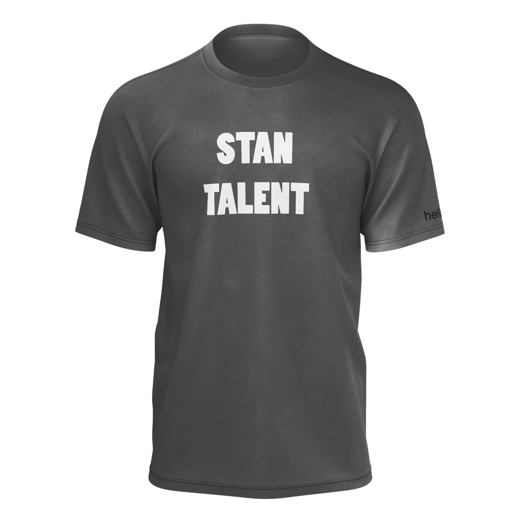 "SHIRT - ""STAN TALENT"" [BLACK]"