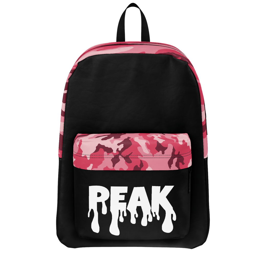 Pink Camo Peak Backpack