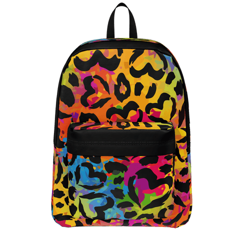 Hearts On Rainbow Storm Backpack