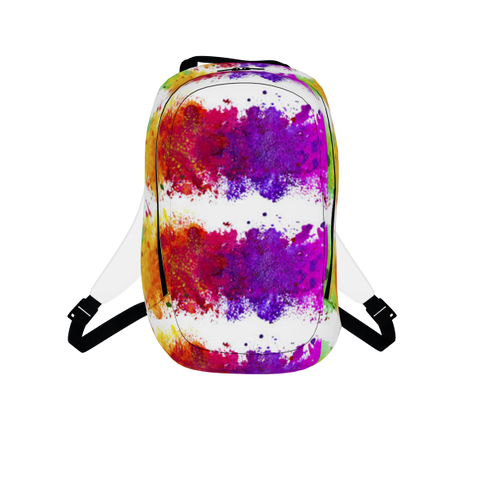 *Limited* Backpack Rainbow Wave Stripes