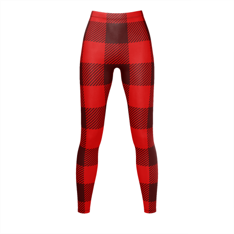 Buffalo Red And Black Flannel Pattern