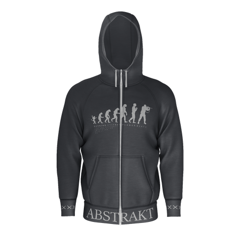 Abstrakt Mankind Zip-up Hoodie 2