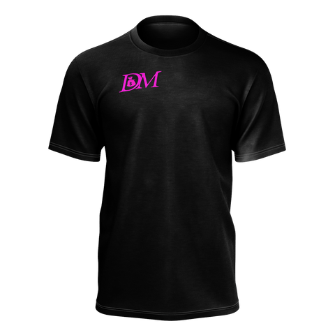 DIRTYMONEY LOGO TEE BLACK/PINK
