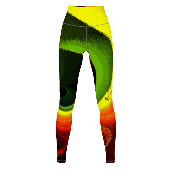 COLOR SWIRL - Yoga Pants