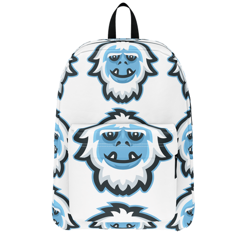 Yeti Pattern Backpack